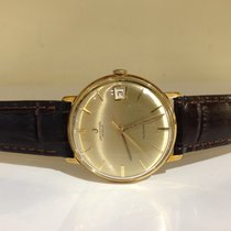 Universal Genève Micro-rotor automatic Date Gold - box and...