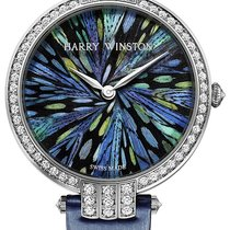 Harry Winston Premier Feathers Ladies Quartz 36mm prnqhm36ww010