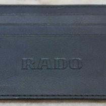 Rado vintage big wallet black leather newoldstock