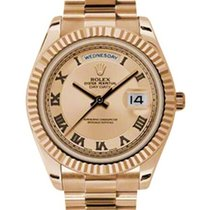 Rolex Day-Date II President Rose Gold 41mm 218235