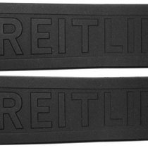 Breitling Diver Pro 3 24/20mm Black Rubber strap for deployant