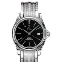 Omega DE VILLE CO-AXIAL GMT Steel on steel Reference 4533.50.00