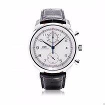IWC Portuguese Chronograph Classic IW390403 Silver 42mm