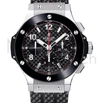 Hublot Big Bang 44mm Steel Ceramic Chronograph 301.sb.131.rx