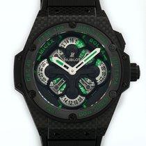Hublot King Power GMT Chronograph Carbon Fiber Automatic