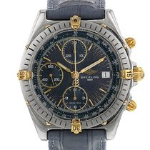 Breitling Chronomat en acier et plaqué or Ref : B13047 Vers 1990