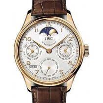 IWC IW502306 Portuguese Perpetual Calendar - Rose Gold on...
