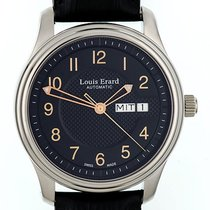 Louis Erard Heritage Stahl Automatik Day Date 40mm
