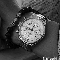 JeanRichard Daniel Chronograph GMT 54012 perfektes Fullset