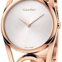 ck Calvin Klein round Damenuhr M K5U2M646