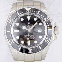 Rolex DeepSea Sea-Dweller Diver Steel 3900 Meter 2015 LC100...