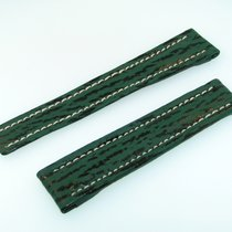 百年靈 (Breitling) Band 16mm Hai Grün Green Shark Strap Correa...