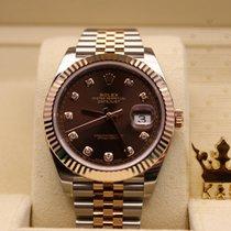 勞力士 (Rolex) 126331 Datejust Rose Gold Chocolate Dial  (Diamond)