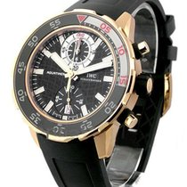 IWC IW376903 Aquatimer Chronograph Wristwatch in Rose Gold -...