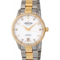 Alpina Comtesse Diamond Automatic Ladies Watch – AL-525APWD3C3B