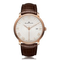 Blancpain Villeret Ultra-Slim Date Seconds Mens Watch 6651C-36...