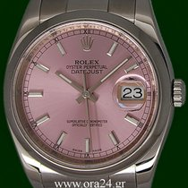 Ρολεξ (Rolex) Datejust 116200 Pink Dial 36mm 2015 Box&Papers