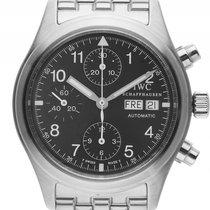 IWC Flieger Chronograph Stahl Automatik Armband Stahl 40mm...