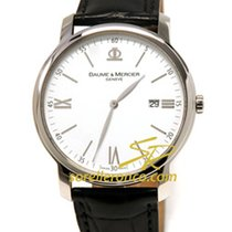 Baume & Mercier CLASSIMA Executives Quartz 42mm White Dial...