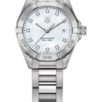 TAG Heuer Aquaracer Ladies Quartz- White Mother of Pearl Dial