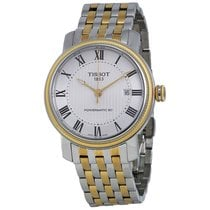 Tissot Men's T097407220330 T-Classic Bridgeport Powermatic...