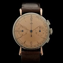 Jaeger Vintage Chronograph cal. 285 Stainless Steel/18k Rose...