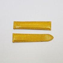 Cartier Eidechsenlederband / Gelb / 18,5 / 16 Länge 85 / 80