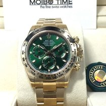 勞力士 (Rolex) 18K Yellow Gold Green Cosmograph Daytona [NEW}