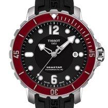 天梭 (Tissot) Seastar 1000 Powermatic 80 Black Dial 42mm T