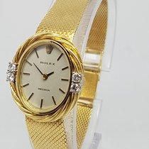 롤렉스 (Rolex) Vintage Very Rare Diamond Ladies 18K Gold Watch