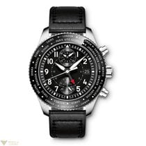 IWC Pilot Timezoner Chronograph Stainless Steel Men's Watch
