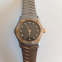 Ebel Classic Wave Stahl/Gold/Brillanten