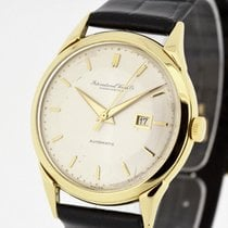 IWC Vintage Men's Watch solid 18K Yellow Gold 1954 Cal....