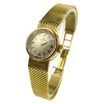 Omega Ladies Vintage 18k Gold Mechanical