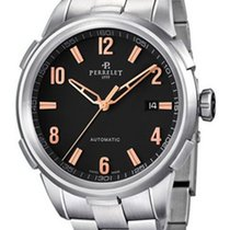 Perrelet A1068.C Class-T 3 Hands Date Mens Automatic in Steel...