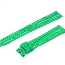 Breitling Tradema Band 15mm Croco Grün Green Strap Für...