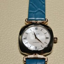 Glashütte Original Lady Pavonina Blue Strap Steel Case...