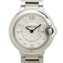 Cartier Ballon Bleu Stainless Steel Silvery White Quartz WE902073