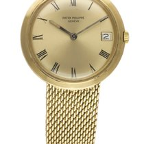 Patek Philippe GOLD CALATRAVA AUTOMATIC BRACELET WATCH