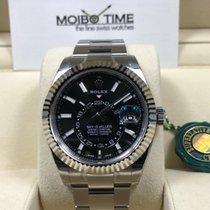 Rolex Sky-Dweller Steel with White Gold Bezel Black Dial [NEW]
