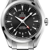 Omega Seamaster Aqua Terra 150m - Gmt Master Co-axial 43 Mm -...