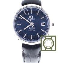 Omega De Ville Hour Vision 41 blue dial leather