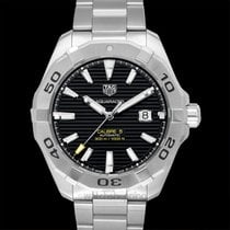 TAG Heuer Calibre 5 Automatic Watch 300 M Black Steel 43mm -...
