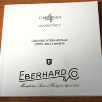 "Eberhard & Co. Warranty Certificate Papers ""chrono 4..."