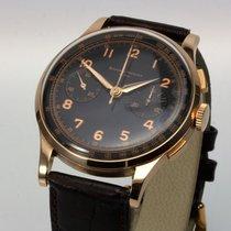 Baume & Mercier eleganter Vintage Chronograph 18K Roségold...