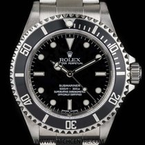 Rolex Stainless Steel O/P 4 Liner Non-Date Submariner B&P...