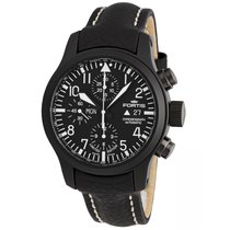 Fortis B-42 Flieger Black Chronograph 656.18.81 L.01