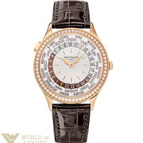 Patek Philippe Complications 36mm Rose Gold and Diamonds World...