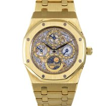 Audemars Piguet Royal Oak Perpetual Calendar Skeleton Watch...