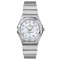 Omega Constellation Mother Of Pearl Diamond Dial Ladies...